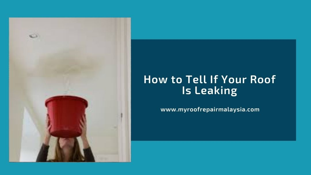 How to Tell If Your Roof Is Leaking
