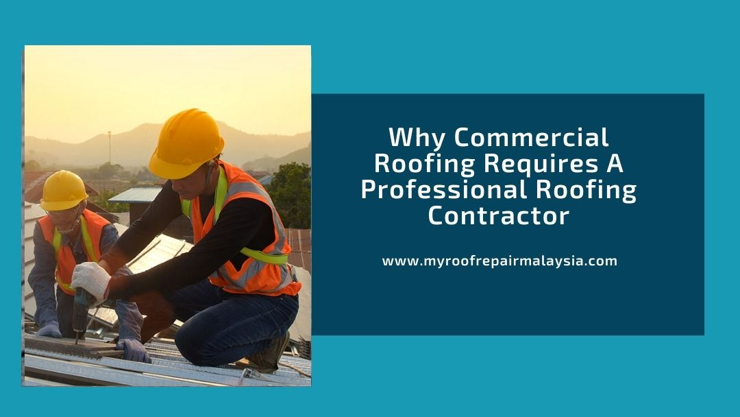 Why Commercial Roofing Requires A Professional Roofing Contractor